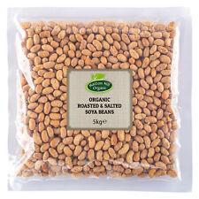 Organic Roasted & Salted Soya Beans 5kg