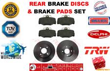 Für Nissan Primera W10 P11 WP11 1991-2002 Ha Bremsscheiben + Bremsbeläge Satz