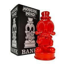 MODERN HERO RED EDITION DESIGNER FIGURE PIGGY BANK MAD