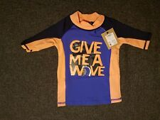 Joules Boys Rash Vest Swim Wear.  Age 2.  BNWT. RRP £19.95.