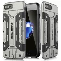 Hybrid Rugged Armor Hard Rubber Case Shockproof Cover For iPhone SE 5S 6S 7 Plus
