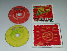 2 CD Internationale Hits 93 35.Tracks 1993 Haddaway Dr Alban David Bowie.. 02/16