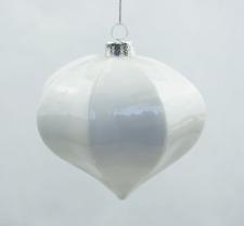 Glas Tropfen, Weihnachtsschmuck Christbaumkugeln 10*9,5 cm, geometrische Form