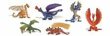LAIR OF THE DRAGON toob - 6 winged mythical creatures Safari Ltd toys