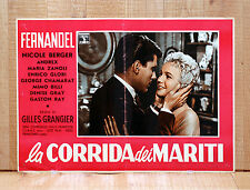 LA CORRIDA DEI MARITI fotobusta poster Le printemps l'automme et l'amour BR44