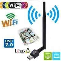 600Mbps USB Wifi Router Wireless Adapter PC Network +5 LAN-Card P3B0 Dongle Lot