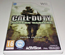 Call of Duty Modern Warfare Nintendo Wii PAL *Complete* Wii U Compatible