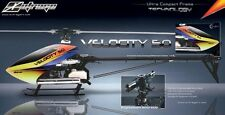 OUTRAGE VELOCITY 50 CF PRO KIT (FLYBARLESS) ONLY AIRFRAMES