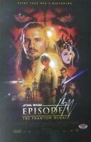 """Star Wars The Phantom Menace"" Portman McGregor Signed 11x17 Photo"
