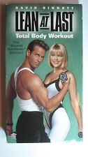 2 Fitness Videos Lean at Last VHS