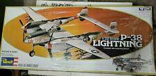 Vintage Revell P-38 Lightning 1/32 Scale Model 4700 Airplane Kit New