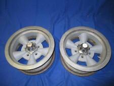 """Pair GM 15"""" Wheels 6 Inch Width 4 3/4"""" Bolt Pattern Rim 5 Bolt Used"""
