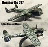 WWII German Dornier Do 217 bomber aircraft 1/144 plane diecast model