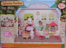 Sylvanian 5050 Spielzeugladen Abenteuerkiste Regale Einkaufswagen B-Ware NEU