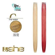 1 fascia extension ciocche mesciate SHE one clip 40-45 cm 5 gr capelli veri 100%25