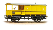 Graham Farish 377-379 20 Ton Toad Brake Van BR Departmental Yellow N Gauge