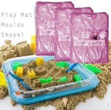 11PCS Magic Motion mover 2kg Set Moldes Play Mat Sand masa en movimiento