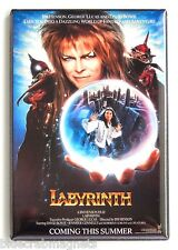 Labyrinth FRIDGE MAGNET (2 x 3 inches) movie poster david bowie