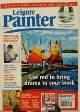 Leisure Painter Use Red Pamela Kay Paints Landscapes May 2016 FREE SHIPPING JB