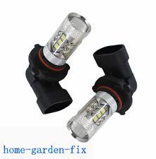 For Toyota Tacoma 05-11 Fog Lights bulbs 6000K White 80W LED Bulbs 9145 USPS