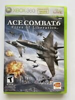 Ace Combat 6: Fires of Liberation (Xbox 360) -W/ Manual & Tested- FAST SHIPPING