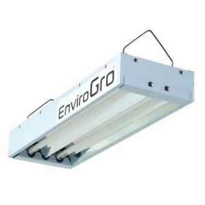 T5 Fluorescent Propagation Grow Light Two / 2x Tube (48 watt) - EnviroGRO Lumii