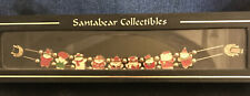 RARE 1995 Santa Bear Collectibles Dayton Hudson Bracelet In Original Box