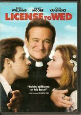"""""""License to Wed"""" (Warner Bros Dvd 2007) full+widescreen, Robin Williams"""