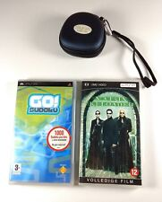 PSP The Matrix Movie Game Go Sudoku UMD Playstation Merchandise Travel Case EU