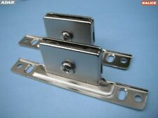 Adar screw-on front metal fixing brackets for Salice Metal Sided Drawers (pair)