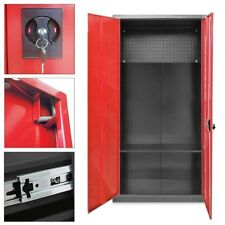 Werkzeugschrank Werkstattschrank Metallschrank 180CM Rot abschließbar Universal