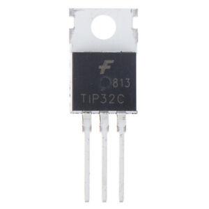 10PCS TIP32C Transistor Darlington Tube Inline TO-220 Voltage Regulator Y.eo