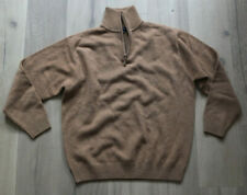 MCNEAL Pure Lambswool Troyer Pullover XL NEUwertig