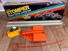 Vintage Schaper Stomper Super Cycle Jump Set w/ Original Box missing some parts