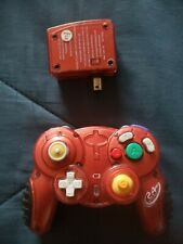 Red Gamestop/Madcatz Nintendo GameCube and Wii Wireless Controller W/ Receivers