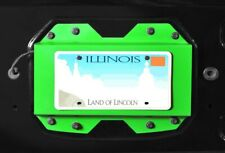 Gecko Green Rear License Plate Relocator For Jeep Wrangler Jl 2018-19 Steinjager