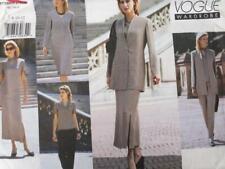 Vogue Sewing Pattern 2340 Ladies Misses Jacket Dress Top Skirt Pants Size 8-12