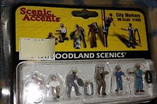 HO Scale Woodland Scenics Ho Scale Figurines City Workers A1826