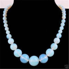"""New 6-14 Natural Opal Round Gemstone Beads Necklace 18""""AAA+"""