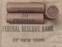 1x 50 Cent Indian Head Penny Cent Roll IHC 1859-1909 P S Old US Coin Pennies Lot