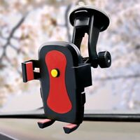 Universal 360° Rotation Car Windshield Mount Holder Cradle For Mobile IOS Phone