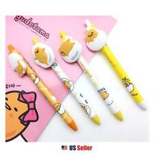 Sanrio Gudetama Lazy Egg Mascot Clip Pen with Rubber Clip (Random 1pc)