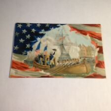 VTG George Washington Entering New York Postcard Early 1900s Raphael Tuck Series
