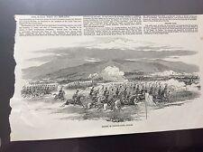 m4-8 ephemera 1849 picture army review phoenix park dublin
