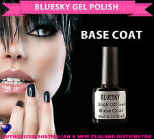 Bluesky Soak Off UV/LED Gel Nail Polish BASE COAT 10ml -needs lamp