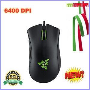 Razer DeathAdder Gaming Mouse Ottico Essential Wired  6400 DPI Sensore PC✨