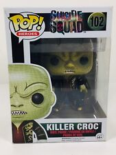 NEW Funko Pop! Heroes Suicide Squad KILLER CROC #102 Vinyl Figure