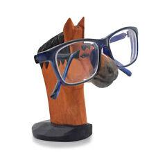 5d099bda610a Vintage Wooden Eyeglass Holder Display Stand Horse Shaped Sunglass Storage  Rack