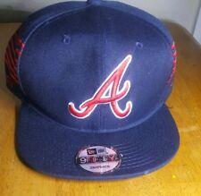 Atlanta Braves MLB Snapback Hat Cap, Navy Blue, Brand New, FREE SHIPPING!
