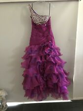 Beautiful Pink Puffy Prom Formal Dress 12